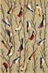 Product Image of Beige, Brown (1440-44) Outdoor / Indoor Area Rug