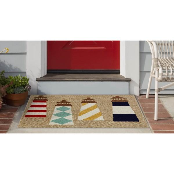 Natural (1401-12) Outdoor / Indoor Area Rug