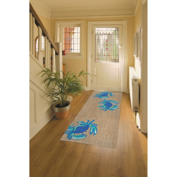 Blue (1404-03) Outdoor / Indoor Area Rug