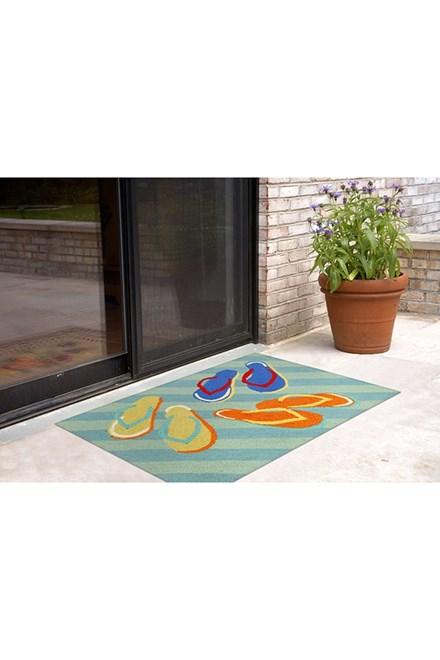 Blue (1405-03) Outdoor / Indoor Area Rug