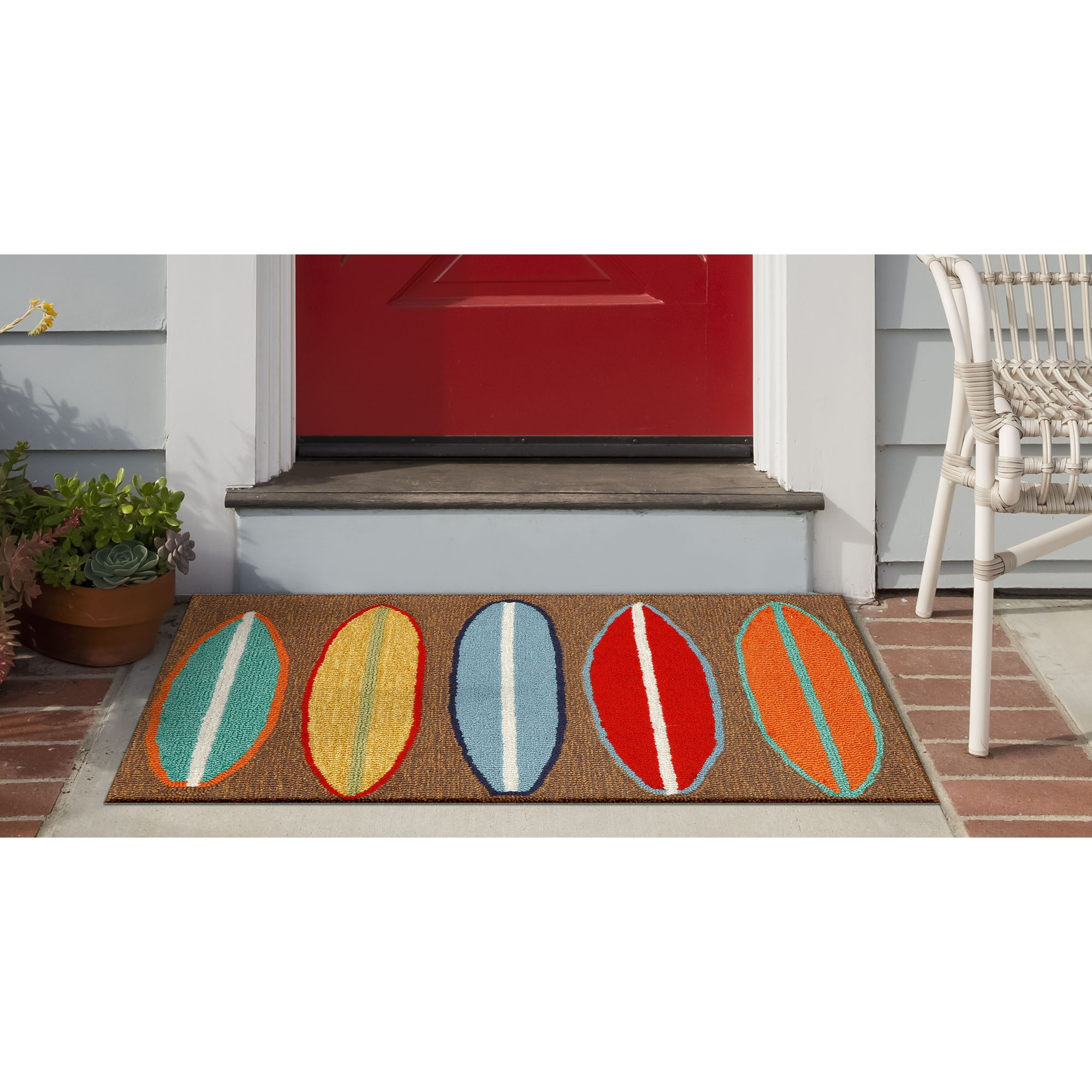 Image of: Liora Manne Front Porch Surfboards Rugs Rugs Direct