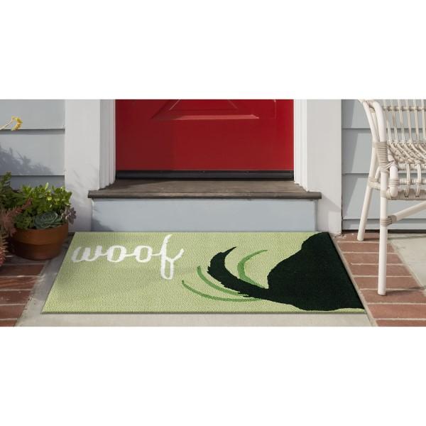 Green (1429-06) Outdoor / Indoor Area Rug