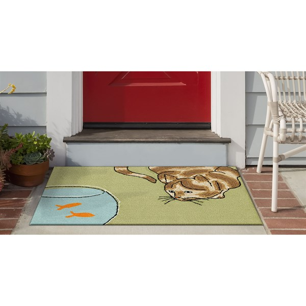 Green (1430-06) Outdoor / Indoor Area Rug