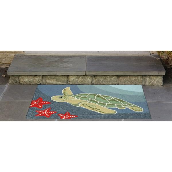 Ocean (1431-04) Outdoor / Indoor Area Rug
