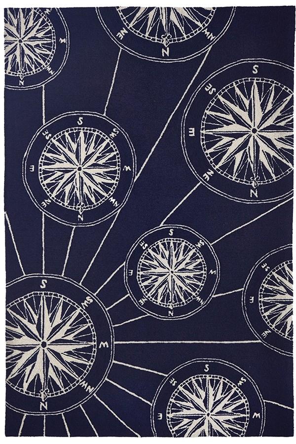 Navy (1447-33) Outdoor / Indoor Area Rug
