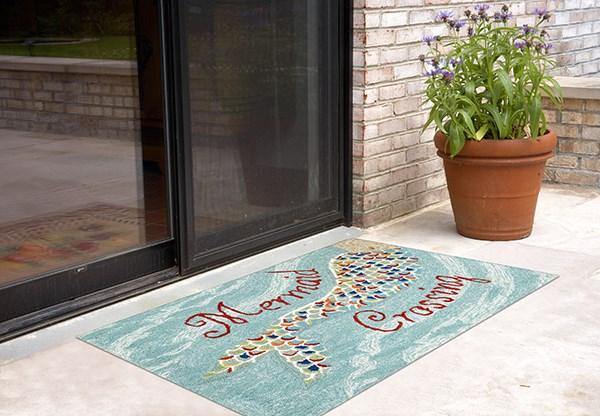 Water (1448-03) Outdoor / Indoor Area Rug