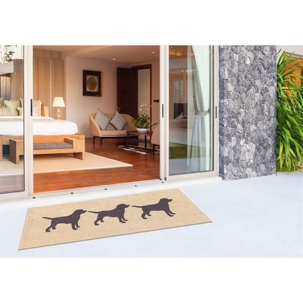 Black (1467-48) Outdoor / Indoor Area Rug