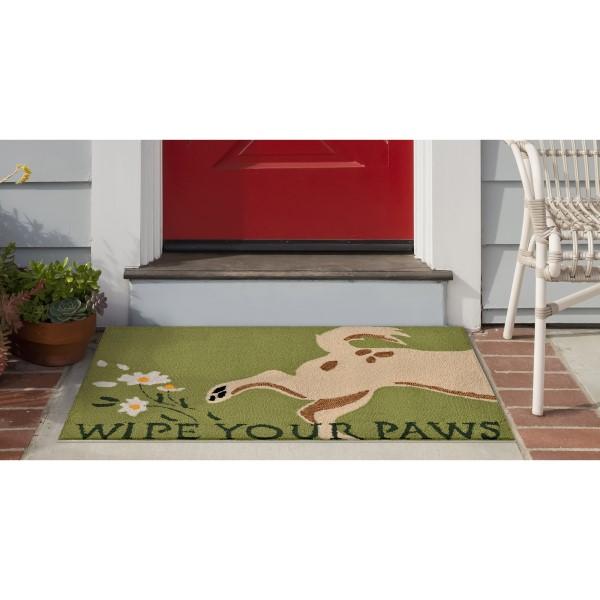 Green (1522-06) Outdoor / Indoor Area Rug
