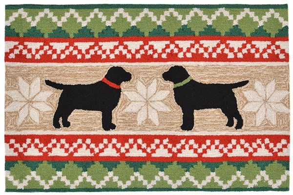 Liora Manne Front Porch Nordic Dogs Rugs Rugs Direct