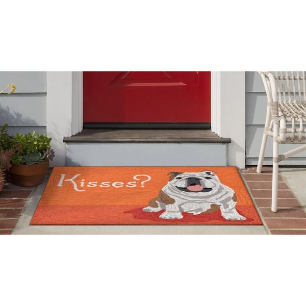 Orange (1567-17) Outdoor / Indoor Area Rug