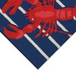 Product Image of Navy, Red, White (1595-33) Outdoor / Indoor Area Rug