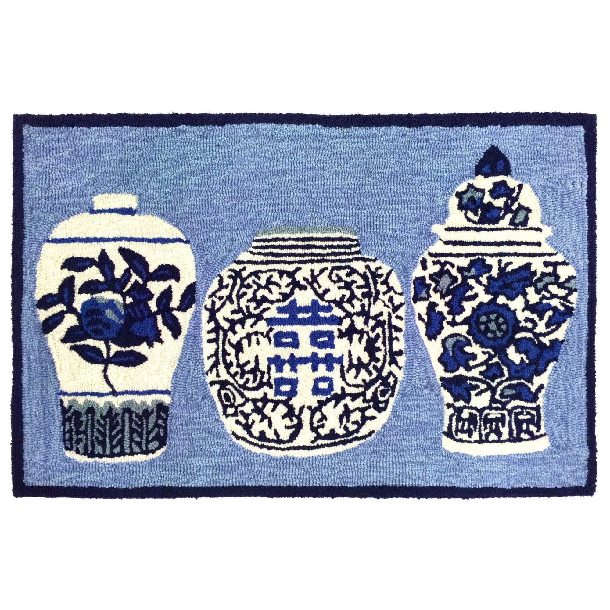 Liora Manne Front Porch Ginger Jars Rugs Rugs Direct