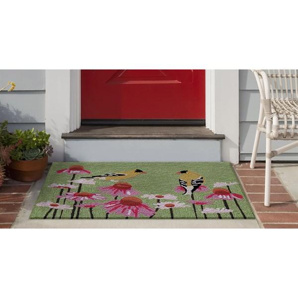 Green (4390-06) Outdoor / Indoor Area Rug