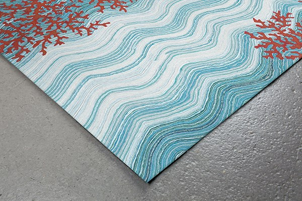 Water (3255-03) Contemporary / Modern Area Rug
