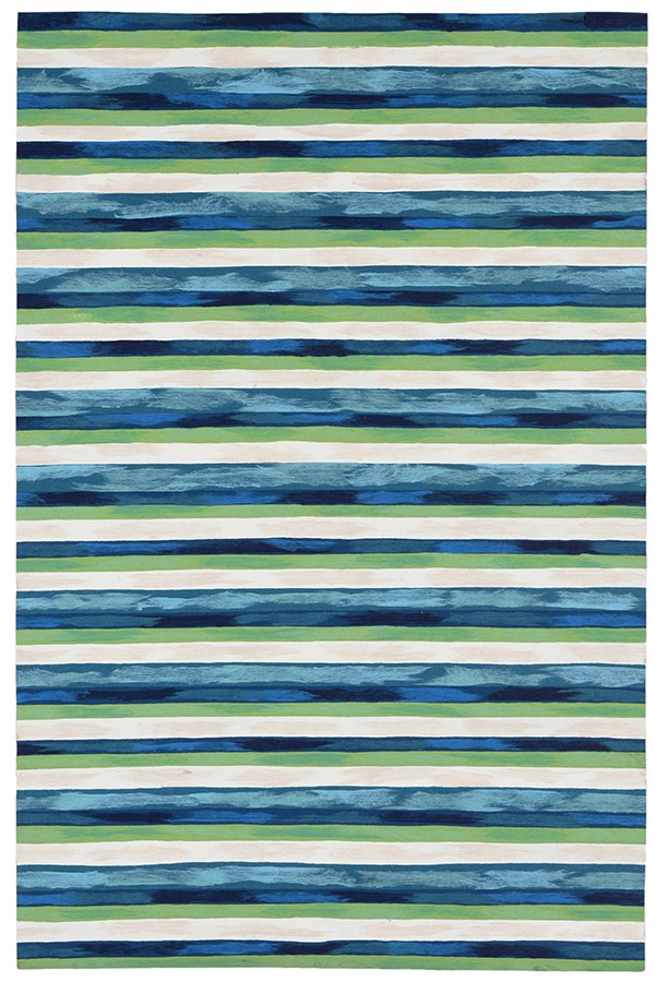 Cool (4313-03) Striped Area Rug