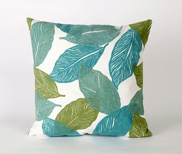 Aqua, Green, White (4051-04) Outdoor / Indoor pillow
