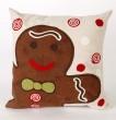Product Image of Chocolate, Black, Beige, Green, Red (4204-19) Outdoor / Indoor pillow