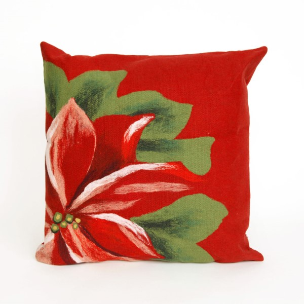 Red, Green, Pink, White (4205-24) Outdoor / Indoor pillow