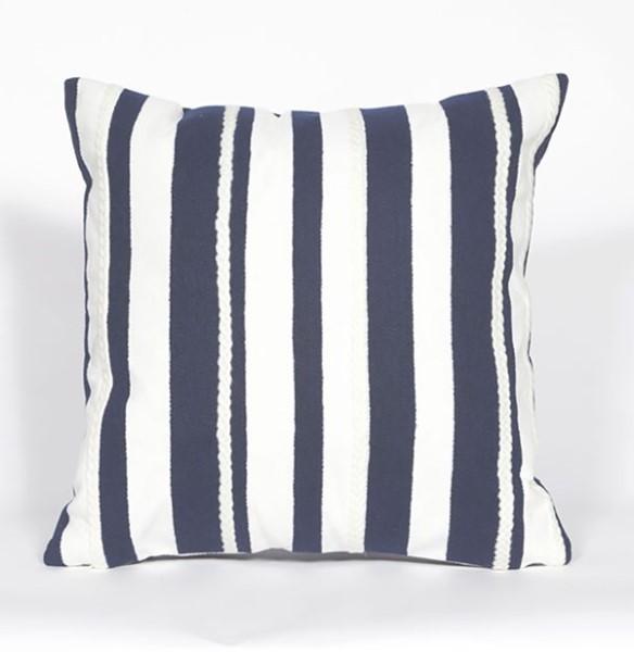 Navy, White (4179-03) Outdoor / Indoor pillow