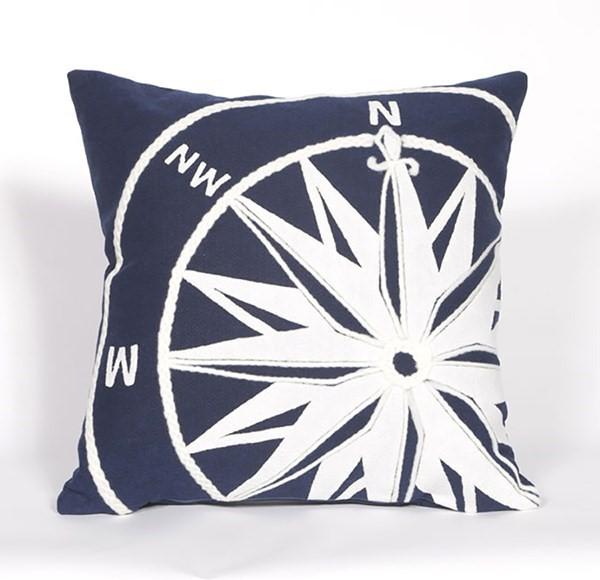 Navy, White (4183-03) Outdoor / Indoor pillow