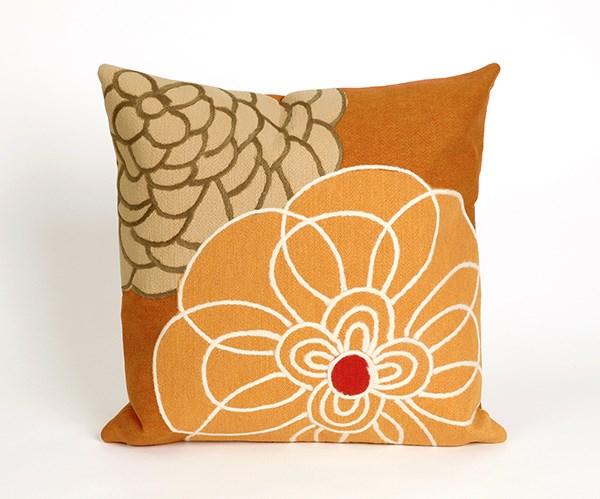 Orange, Red, White (4118-97) Outdoor / Indoor pillow