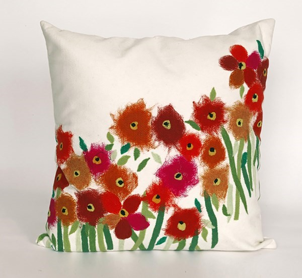Red, Green, White (3209-24) Outdoor / Indoor pillow