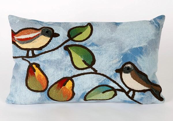 Blue, Green, Orange (4119-03) Outdoor / Indoor pillow