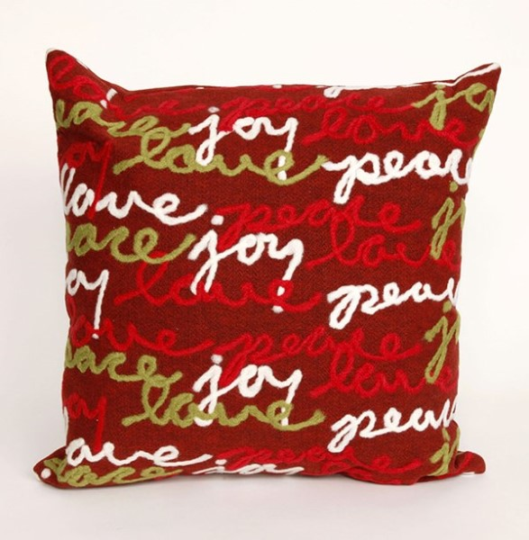 Red, Green, White (4200-24) Outdoor / Indoor pillow