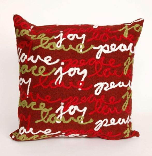 Red, Green, White (4200-24) Novelty / Seasonal pillow