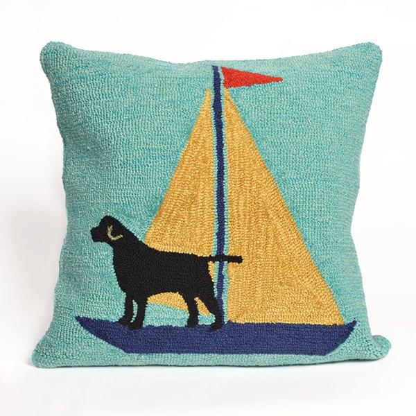 Blue, Black, Yellow (1402-09) Outdoor / Indoor pillow
