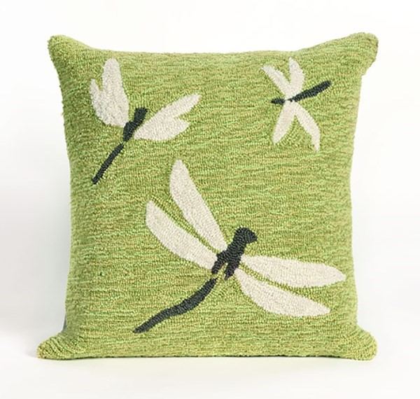 Green, Grey, White (1415-06) Outdoor / Indoor pillow