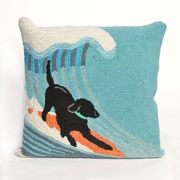 Blue, Black, Green, Orange (1473-04) Outdoor / Indoor pillow
