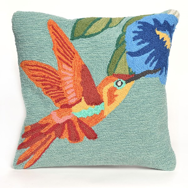 Blue, Green, Orange, Purple, Yellow (1527-03) Outdoor / Indoor pillow