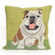 Product Image of Outdoor / Indoor Green, Black, Brown, Pink, White (1567-06) pillow