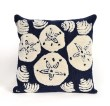 Product Image of Outdoor / Indoor Navy, Ivory (1408-33) pillow