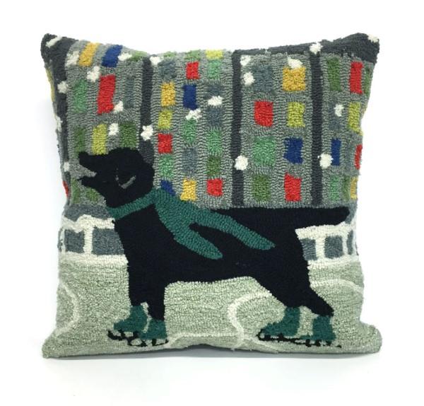 Green, Black, Blue, Grey, Red (1526-06) Outdoor / Indoor pillow