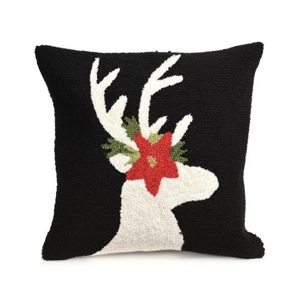 Black (1818-48) Outdoor / Indoor pillow