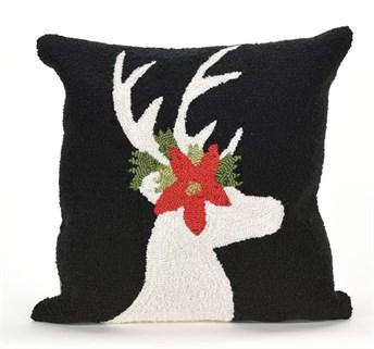 Front Porch Pillows Reindeer pillow