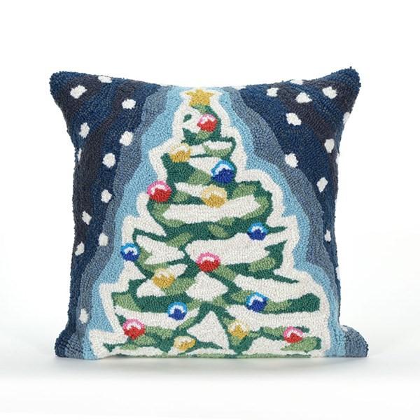 Blue (1844-47) Outdoor / Indoor pillow
