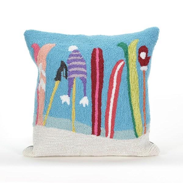 Blue (1845-03) Outdoor / Indoor pillow