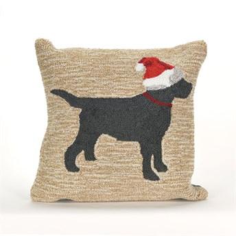 Front Porch Pillows Christmas Dog pillow