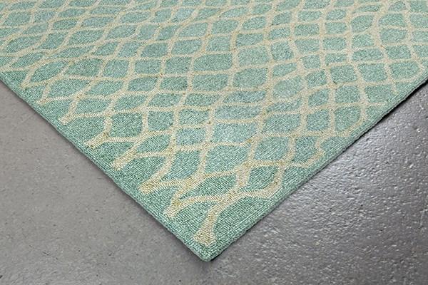 Aqua (6851-04) Contemporary / Modern Area Rug