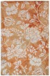 Product Image of Floral / Botanical Rust, Ivory (7803-18) Area Rug