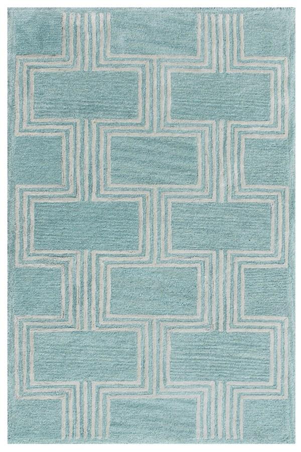 Aqua (9304-04) Contemporary / Modern Area Rug