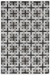 Product Image of Contemporary / Modern Charcoal (2709-48) Area Rug