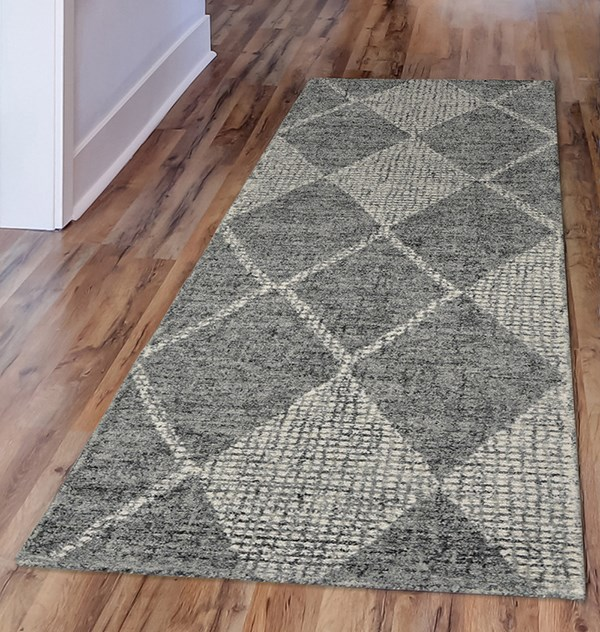 Flannel (9504-19) Contemporary / Modern Area Rug