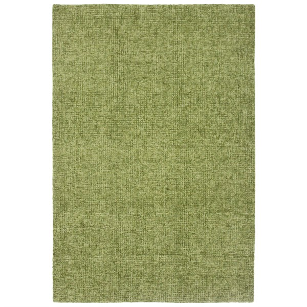 Green (9503-06) Solid Area Rug