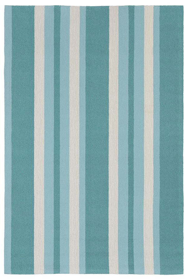 Blue (6677-04) Outdoor / Indoor Area Rug