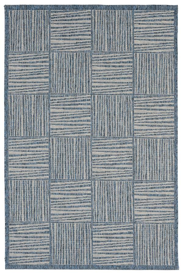 Blue (7305-03) Outdoor / Indoor Area Rug