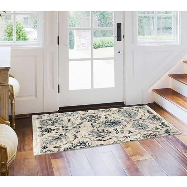 Ivory (6079-12) Traditional / Oriental Area Rug